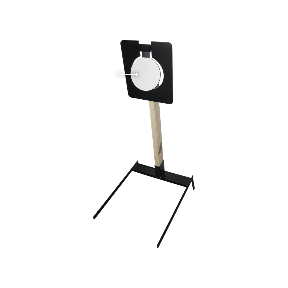 "Portable 8"" Single Plate Target Dimensions"