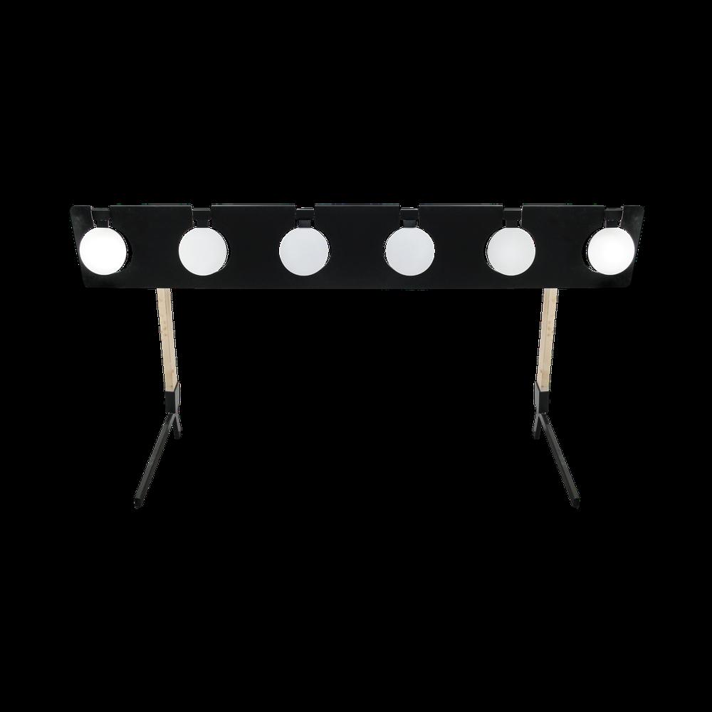 "Portable 8"" Plate Rack"