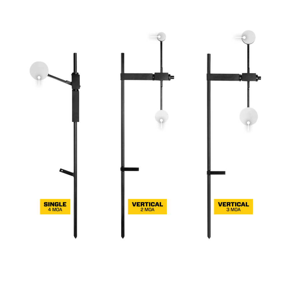 Compact Precision Target Dimensions