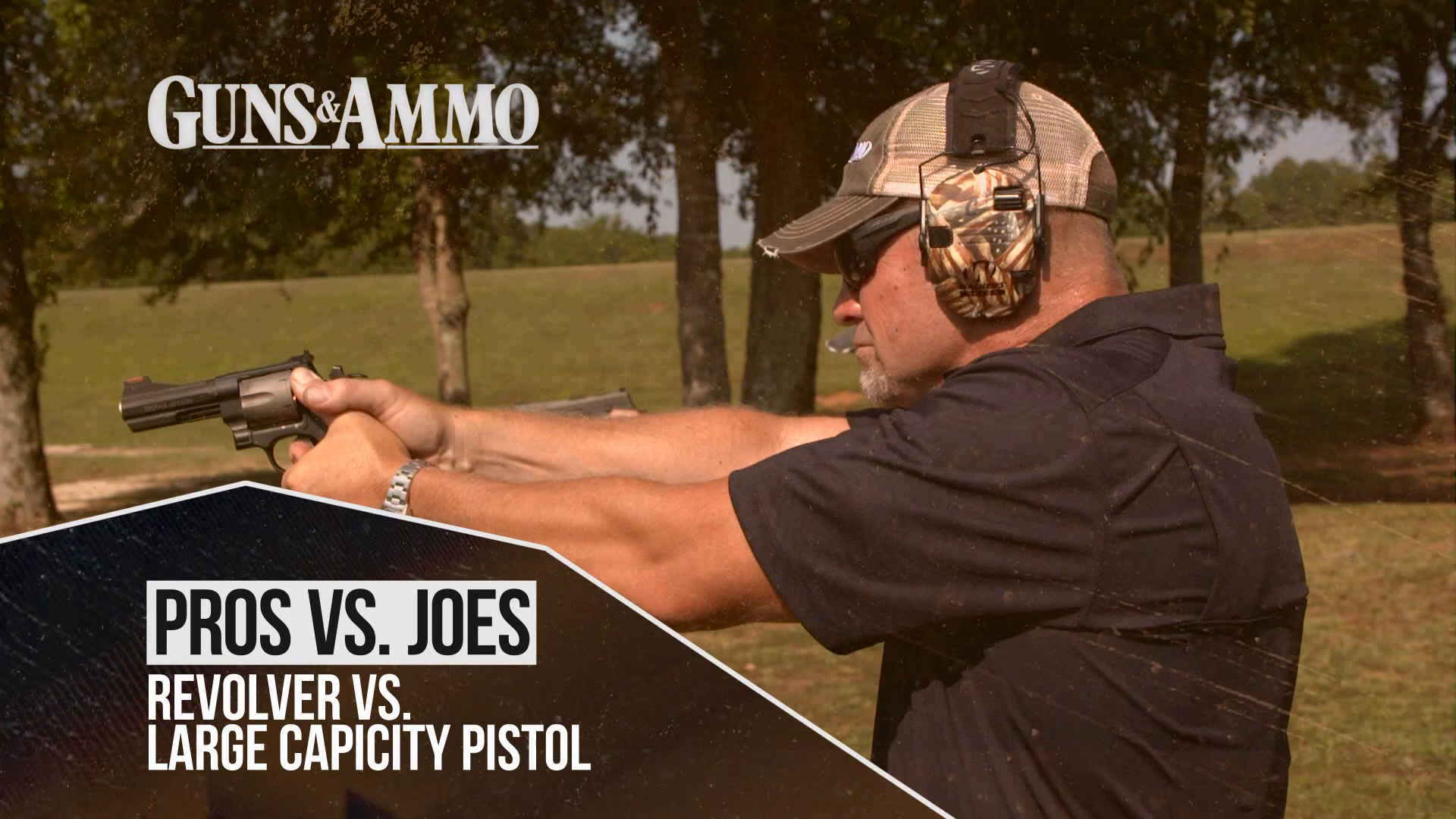 Revolver VS. Large Capicity Pistol