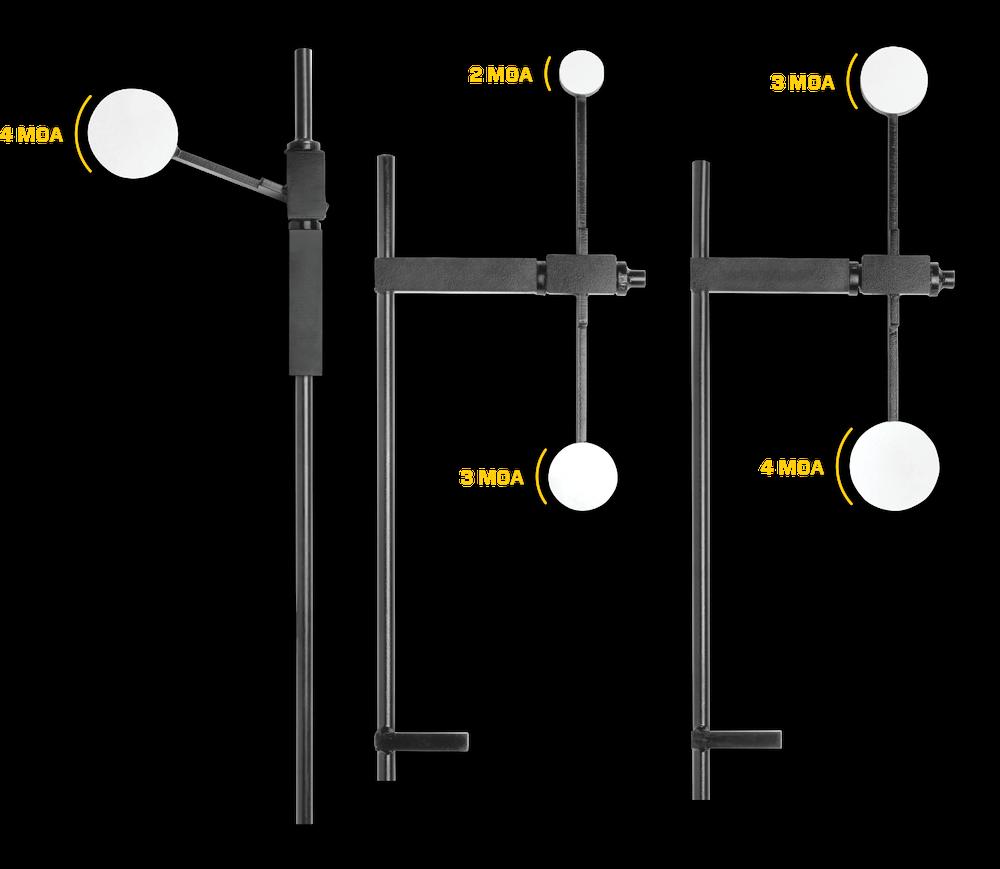COMPACT PRECISION RIFLE TARGET BUNDLE