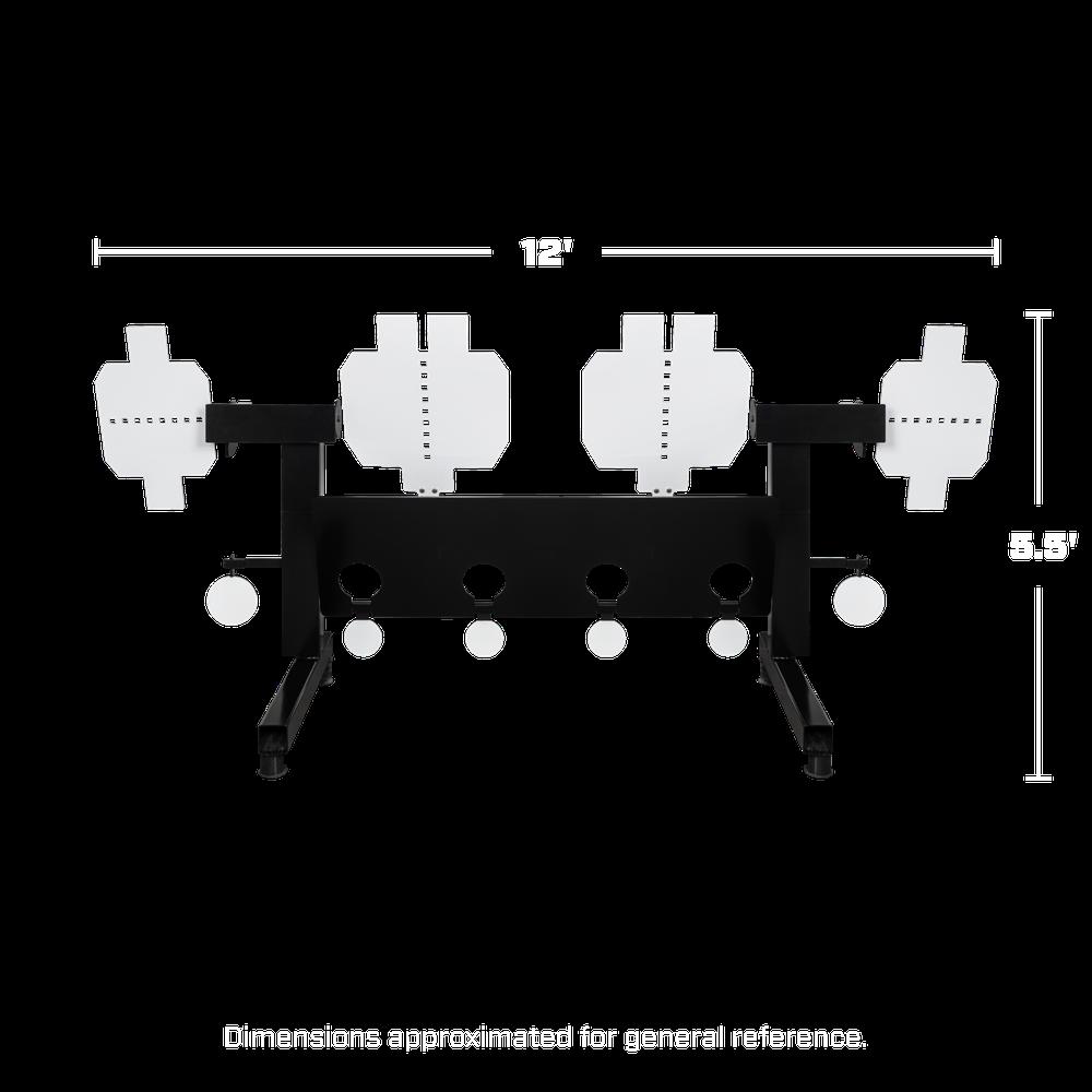 Heavy Duty Multi Target Dimensions